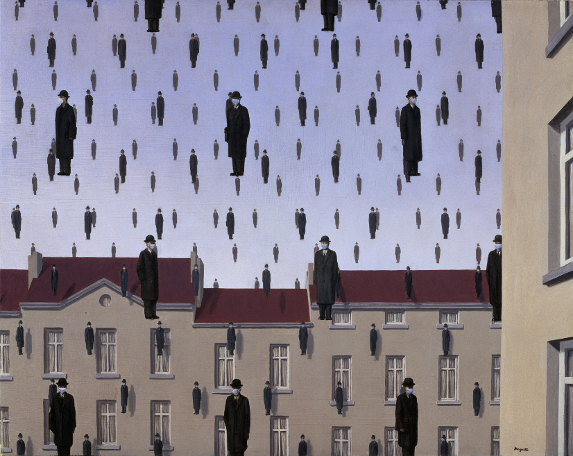 magritte social distancing